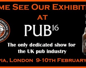 PEGAS equipment at the trade show PUB16 in the UK pub industry